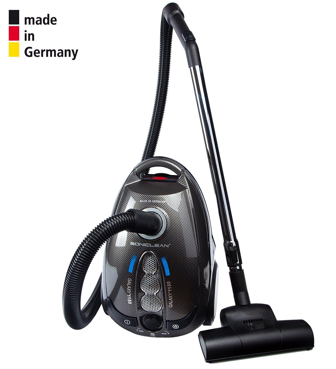 Review Soniclean Galaxy 1150 Canister Vacuum Cleaner