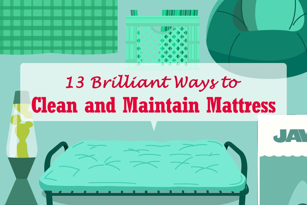 13-Ways-to-clean-and-maintain-mattress