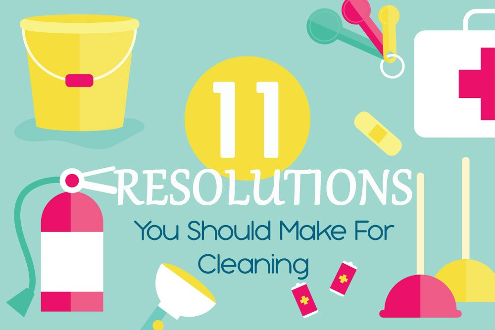 11 Small Cleaning Resolutions You Should Make This Year