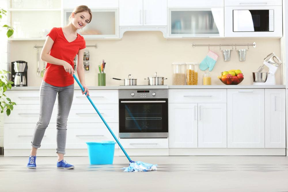 Mopping-the-floor